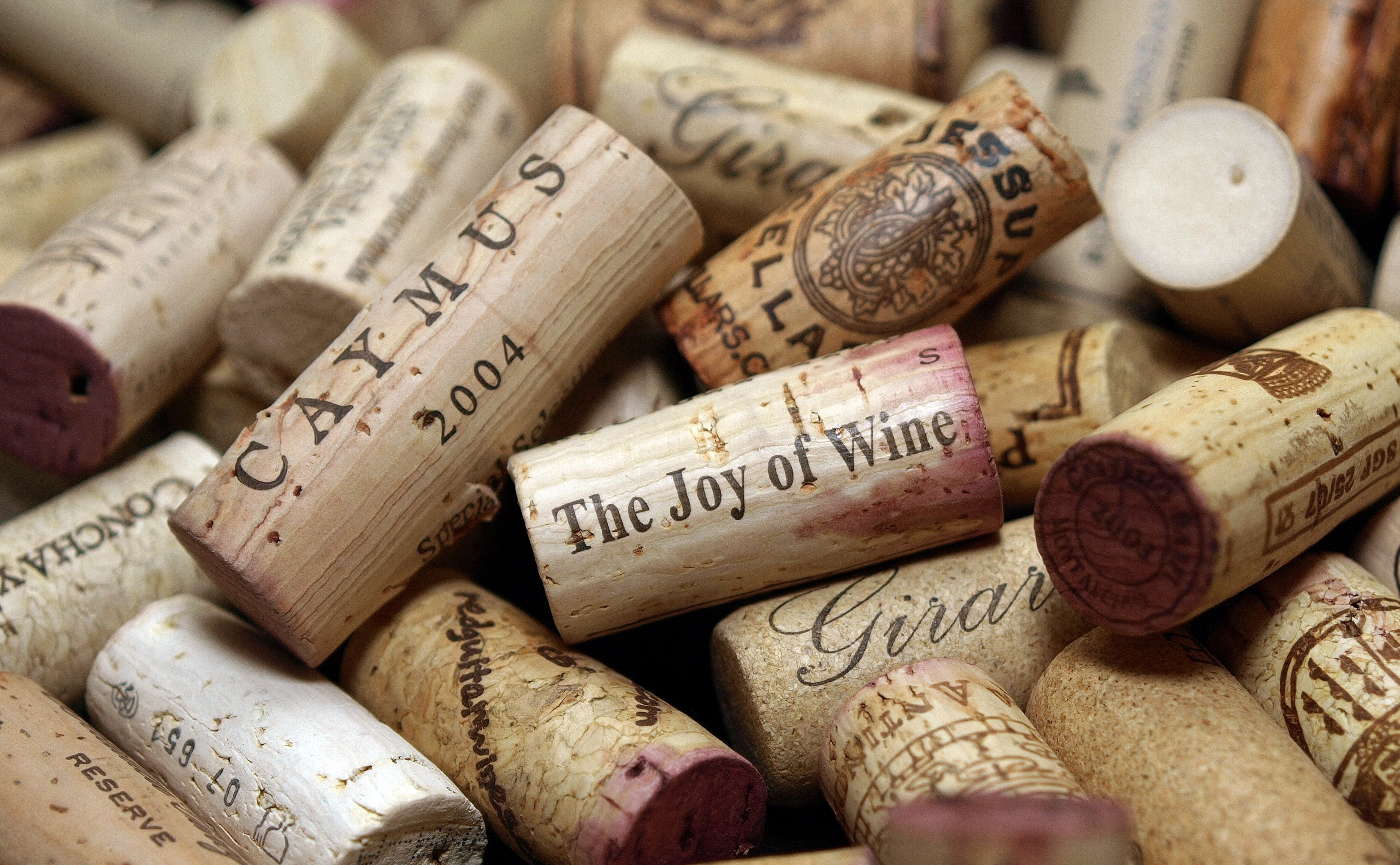 Bouchons de vin