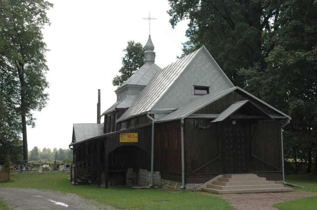 Drewniana cerkiew