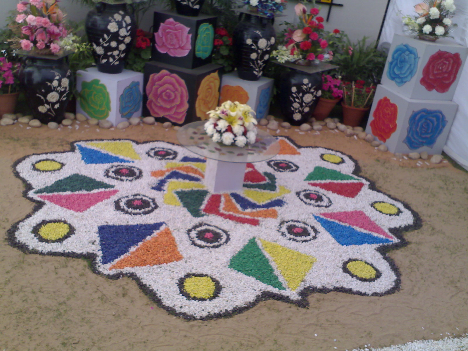 Rangoli Designs For Competition With Concepts Colorful rangoli posters,