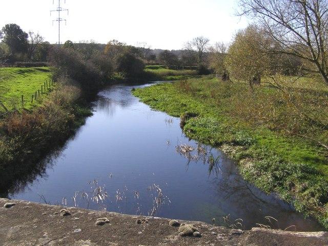 River Welland upstream from Uffington Bridge - geograph.org.uk - 608225