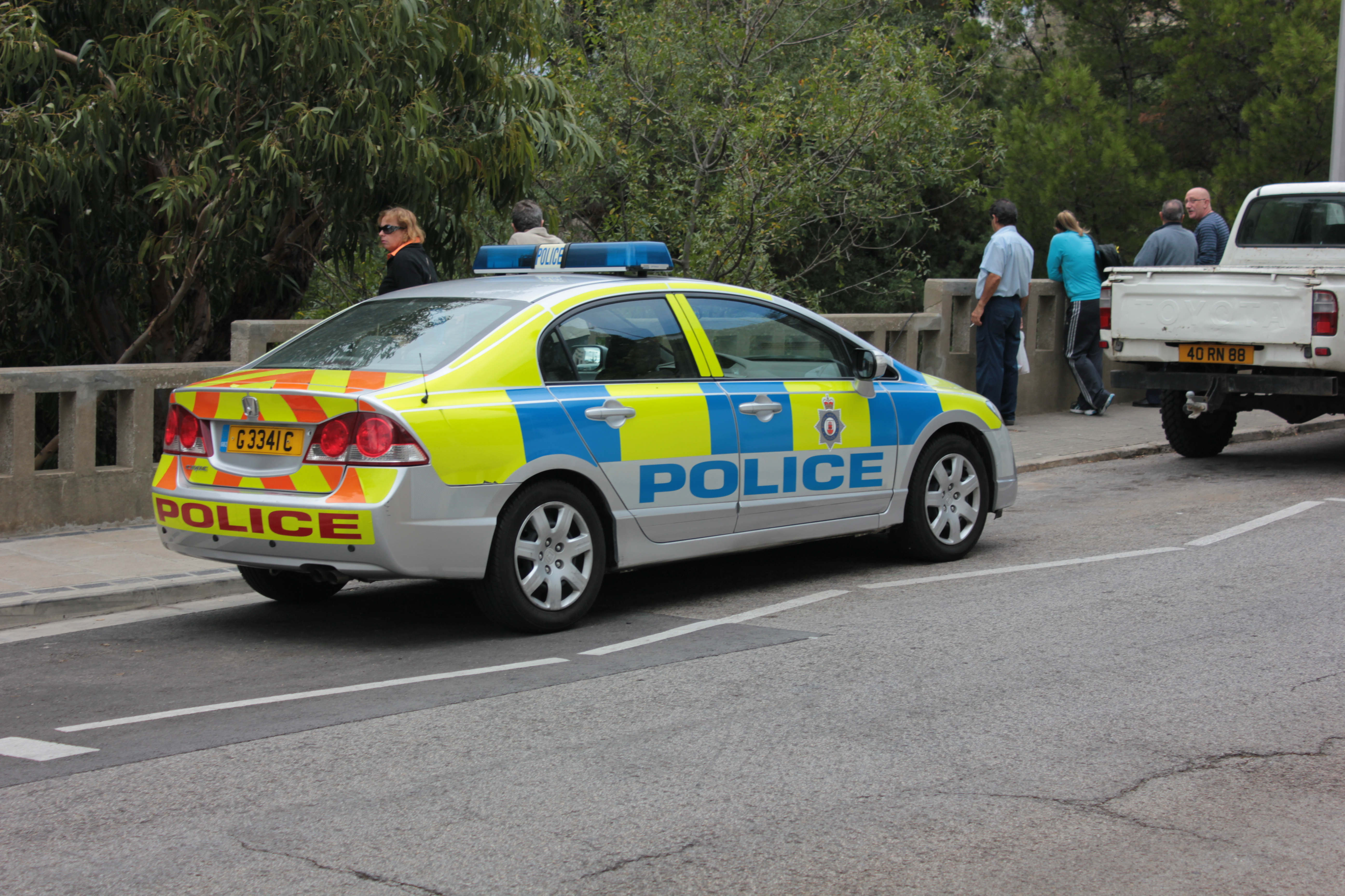 File Royal Gibraltar Police Honda Passenger Side Jpg Wikimedia Commons