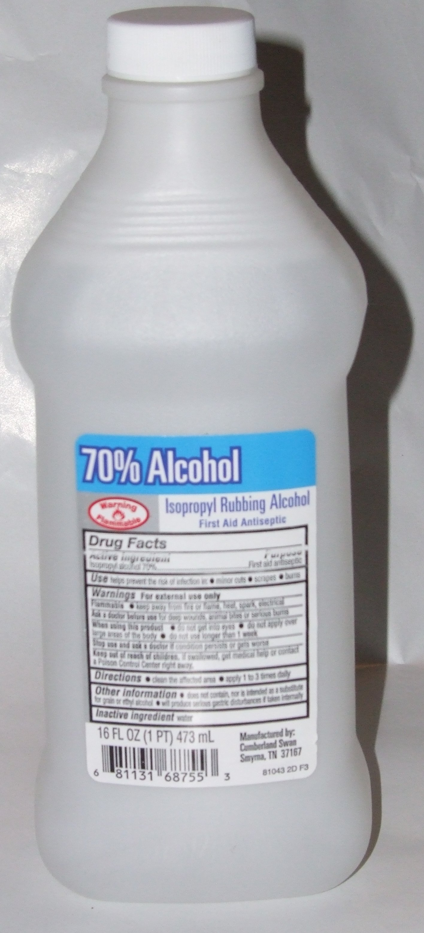 Use isopropyl alcohol to clean your Chromebook's keyboard and touchpad.