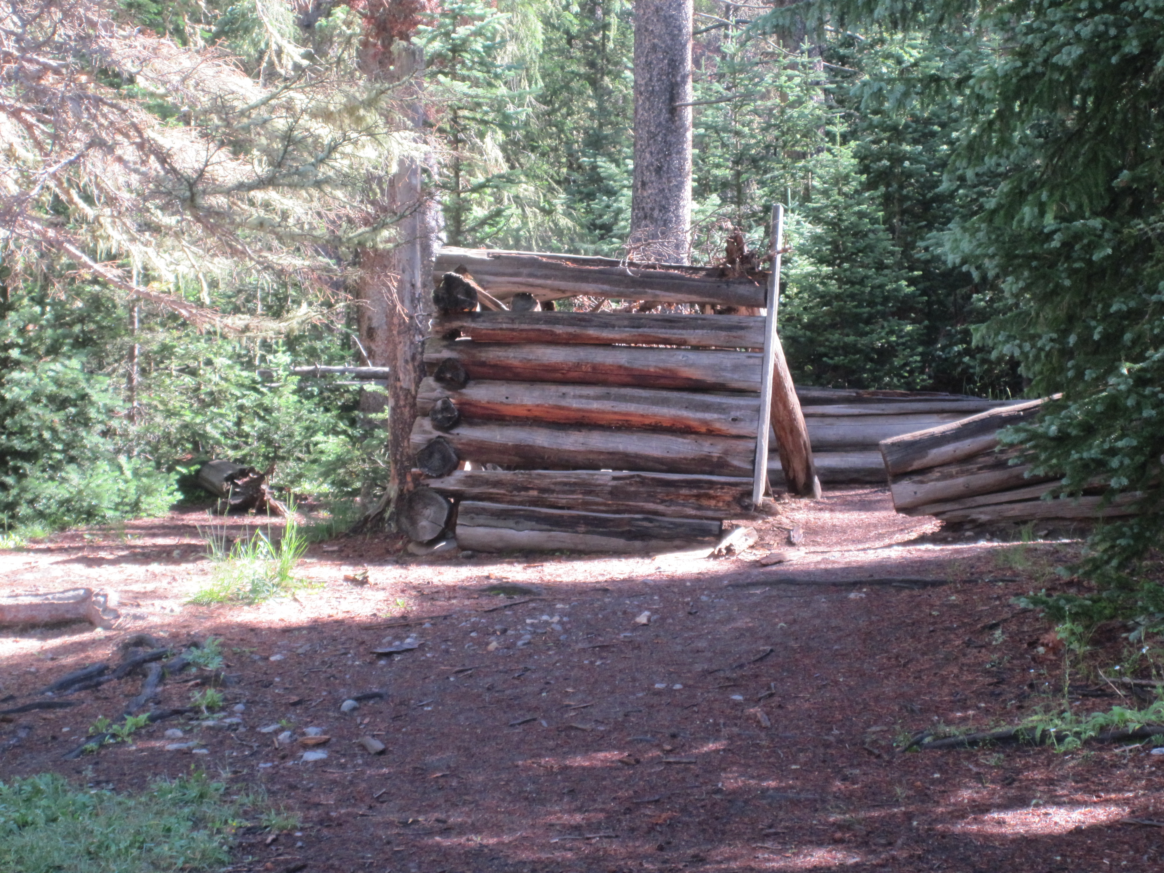 log cabin is a house built from logs it is a fairly simple type of log ...