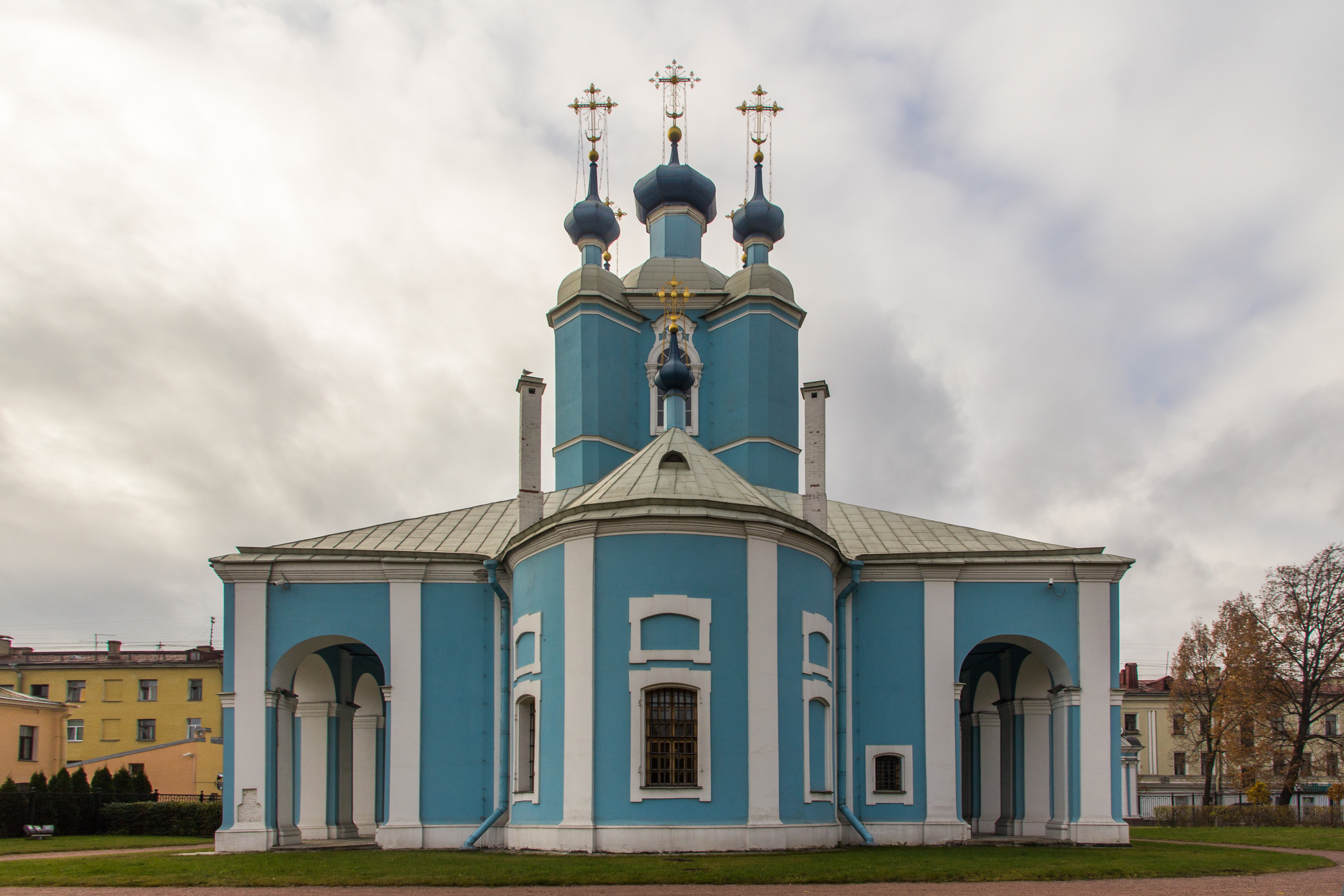 Description of St. Sampson Cathedral in St. Petersburg, history, address, mode of operation 44