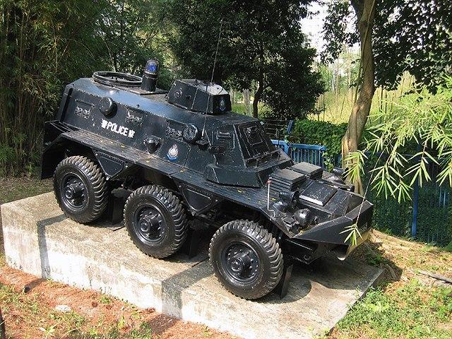 قوات مكافحة الشغب Saracen_Police_HK