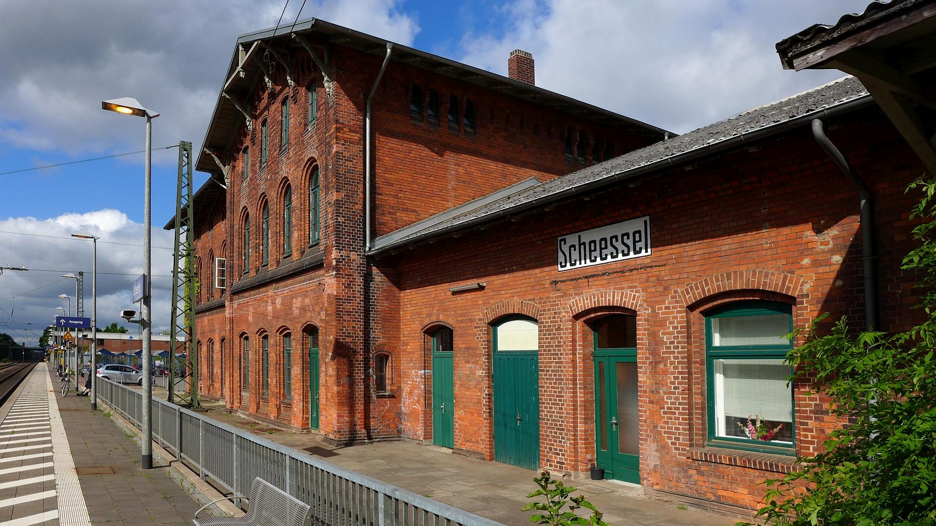 Bahnhof Scheeßel