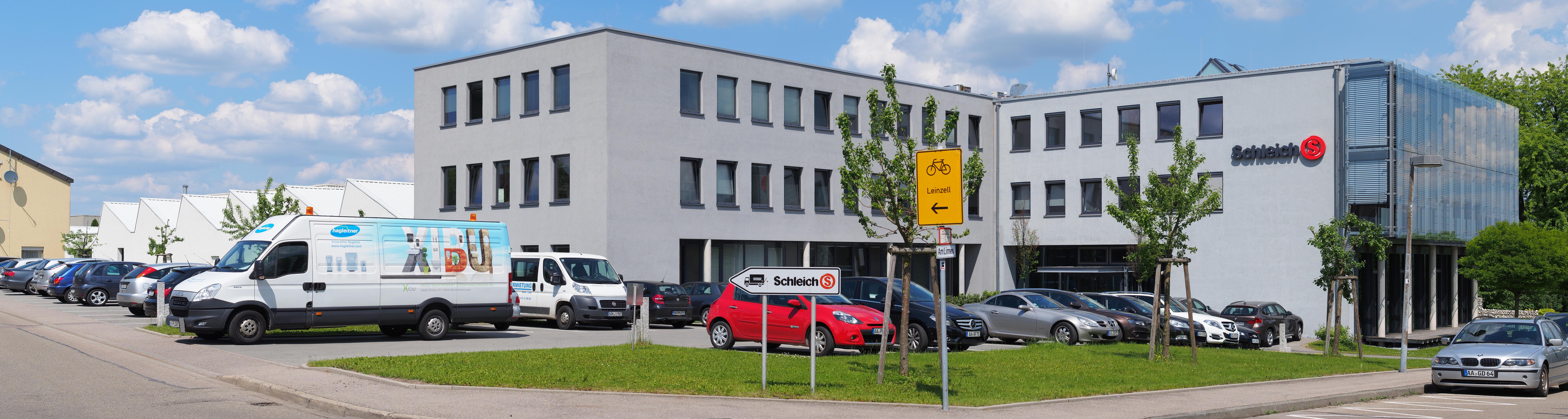 Schleich headquarters in Schwäbisch Gmünd