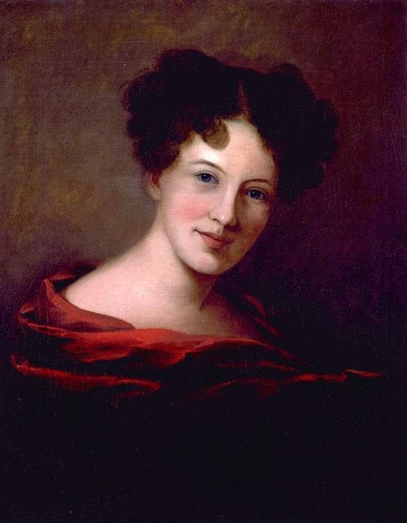 Painting Self Portrait by Sarah Miriam Peale, 1818