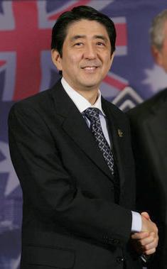 Prime Minister Shinzō Abe of Japan, Saturday, ...