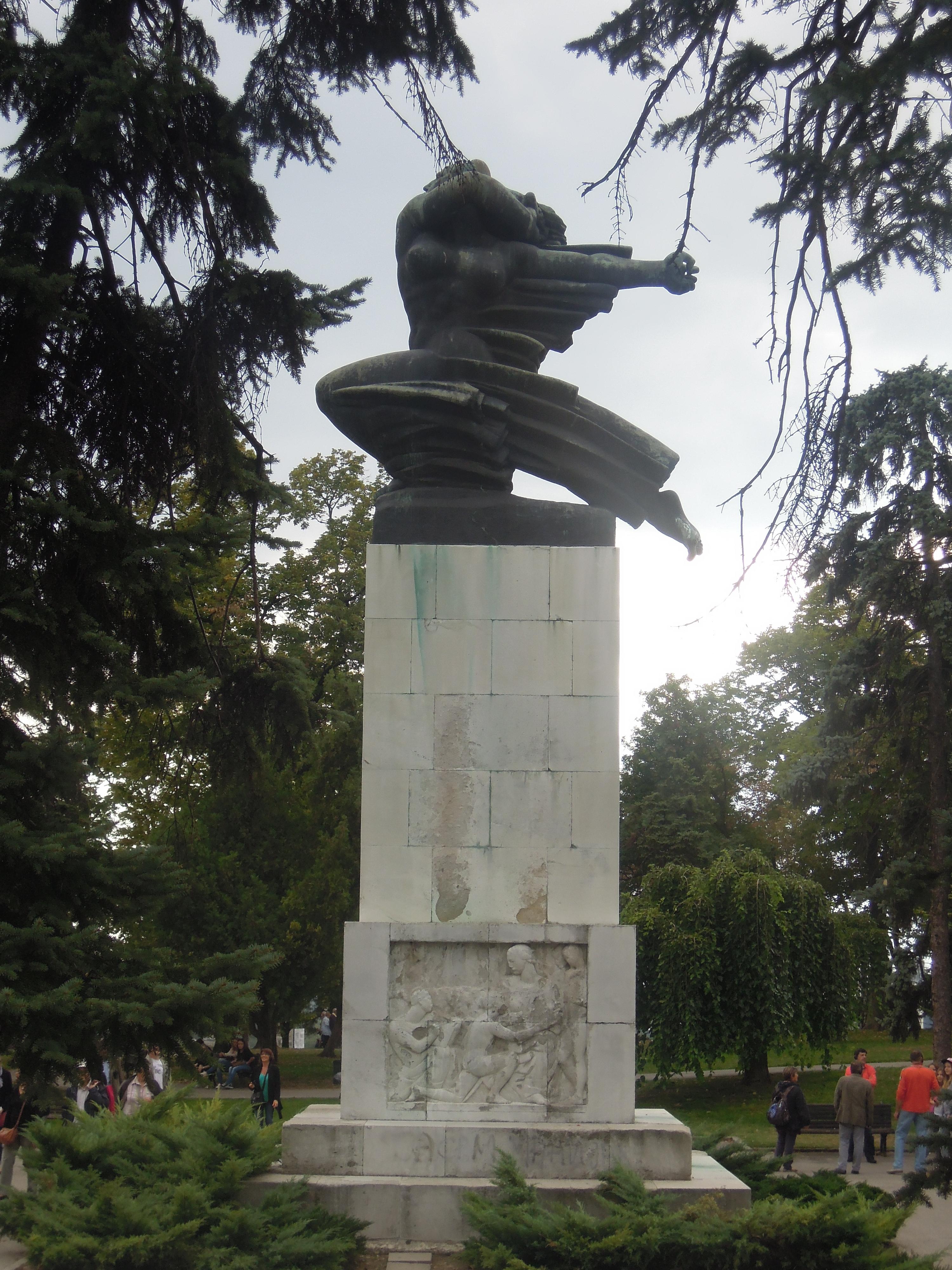File Spomenik Zahvalnosti Francuskoj 0016 Jpg Wikimedia Commons