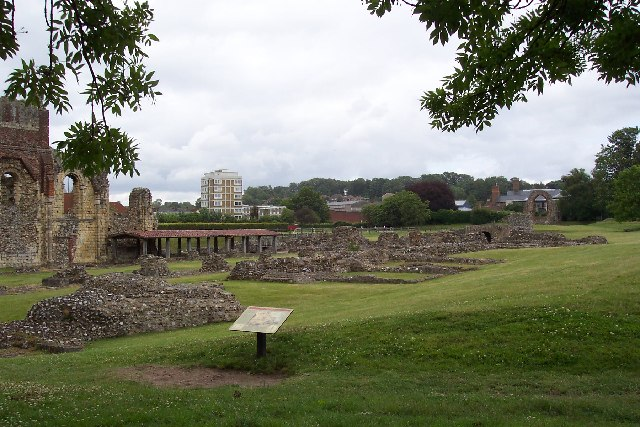 St Augustine's Abbey, Canterbury, Kent - geograph.org.uk - 41912