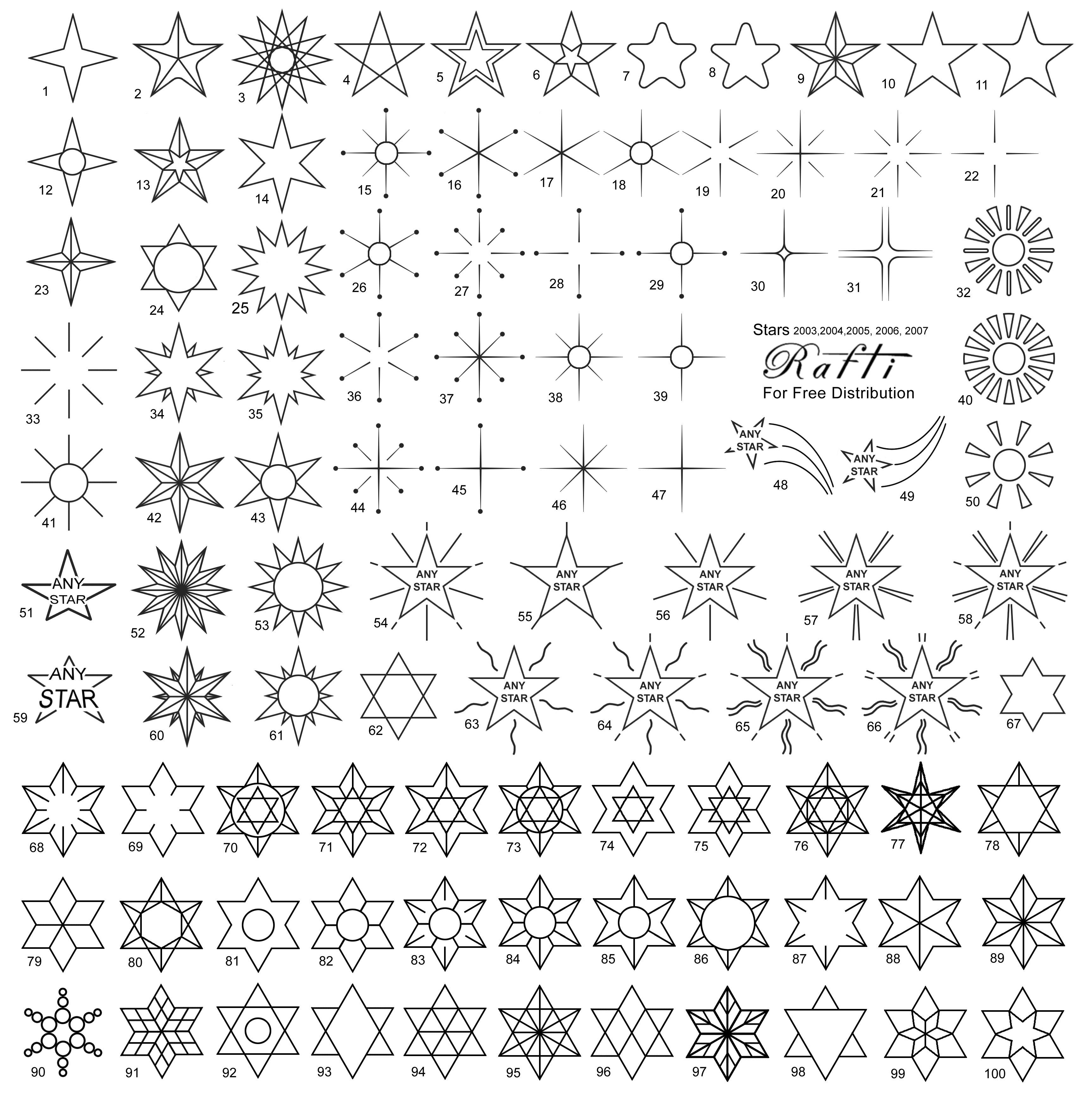 file stars tattoo wikimedia commons. Black Bedroom Furniture Sets. Home Design Ideas