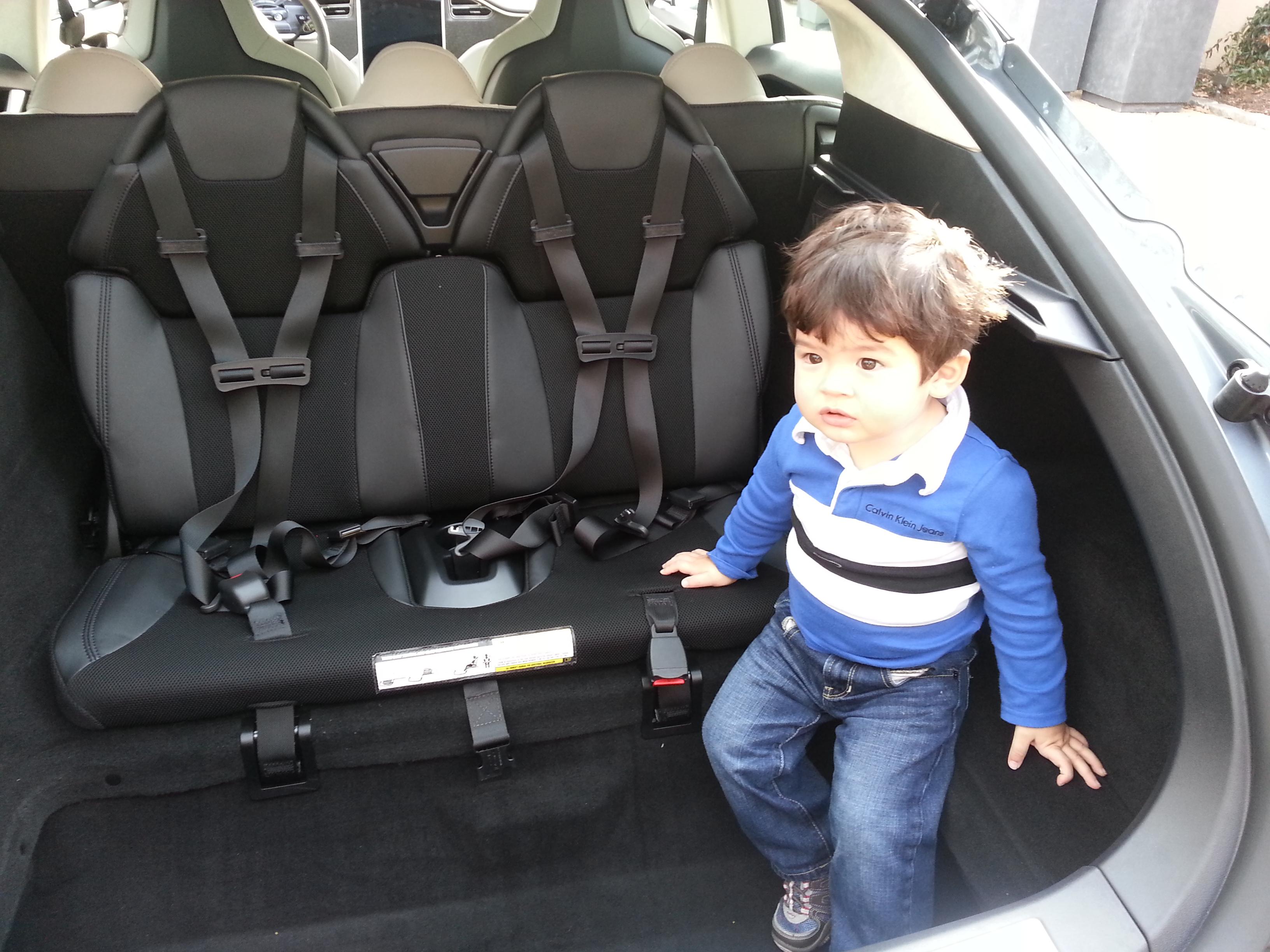 Tesla Built In Car Seats