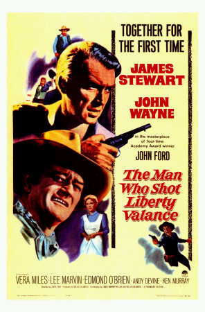 The Man Who Shot Liberty Valance film poster The Man Who Shot Liberty Valance.jpg