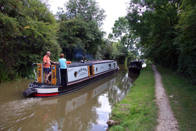 The Oxford Canal at Thrupp - geograph.org.uk - 1483451