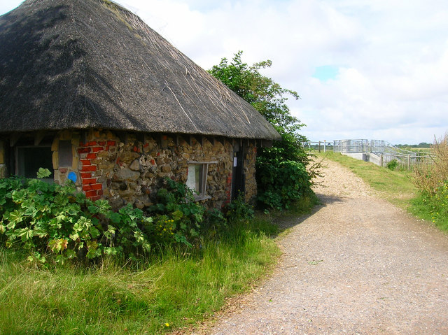 The Salthouse, Pagham Harbour - geograph.org.uk - 501445