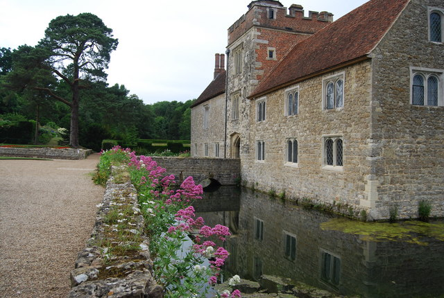 The mote, Ightham Mote - geograph.org.uk - 1362643