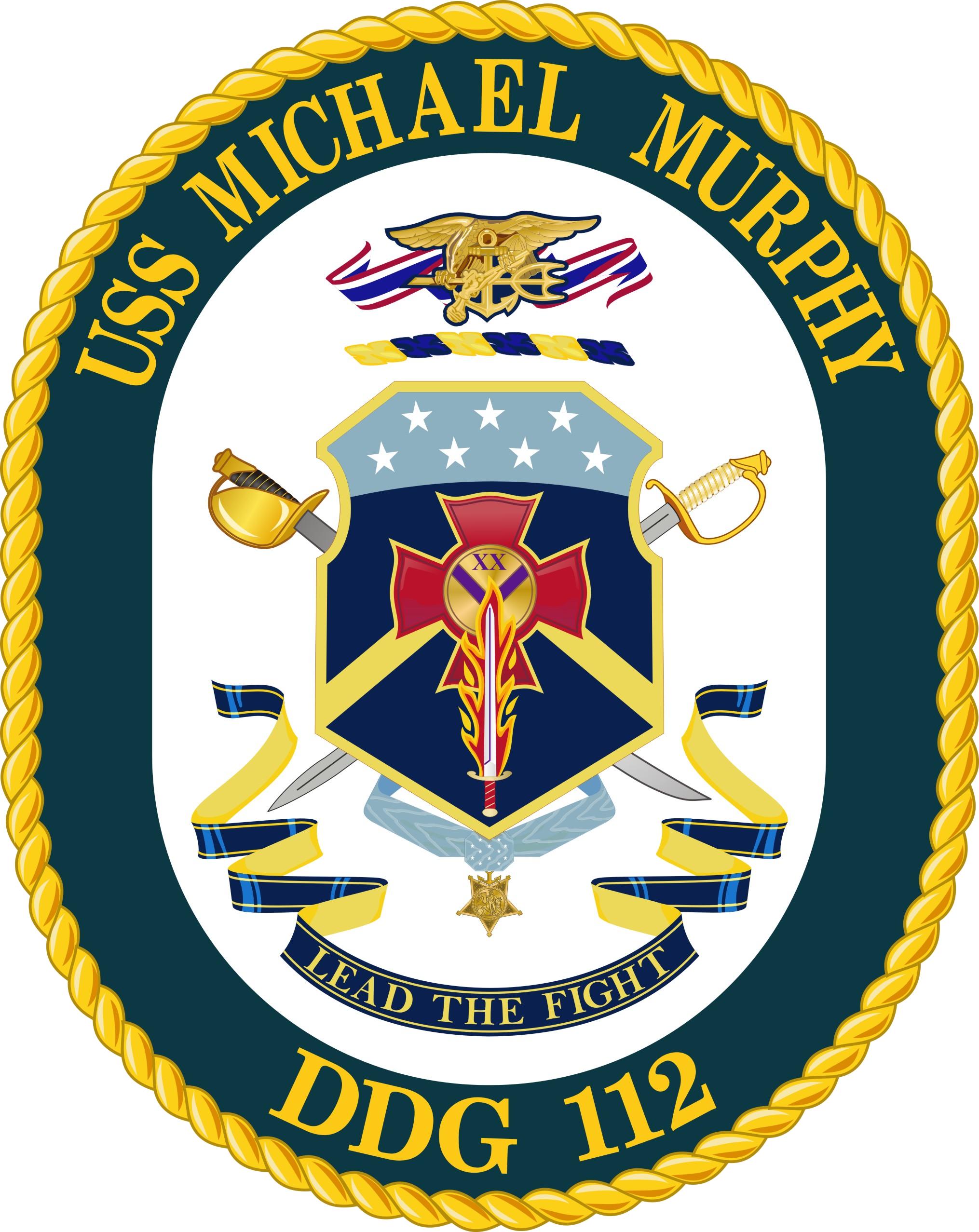 USS Michael Murphy COA.png