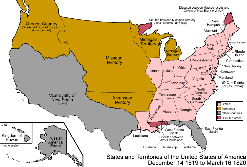 FileUnited States Png Wikimedia Commons - 1819 map of us
