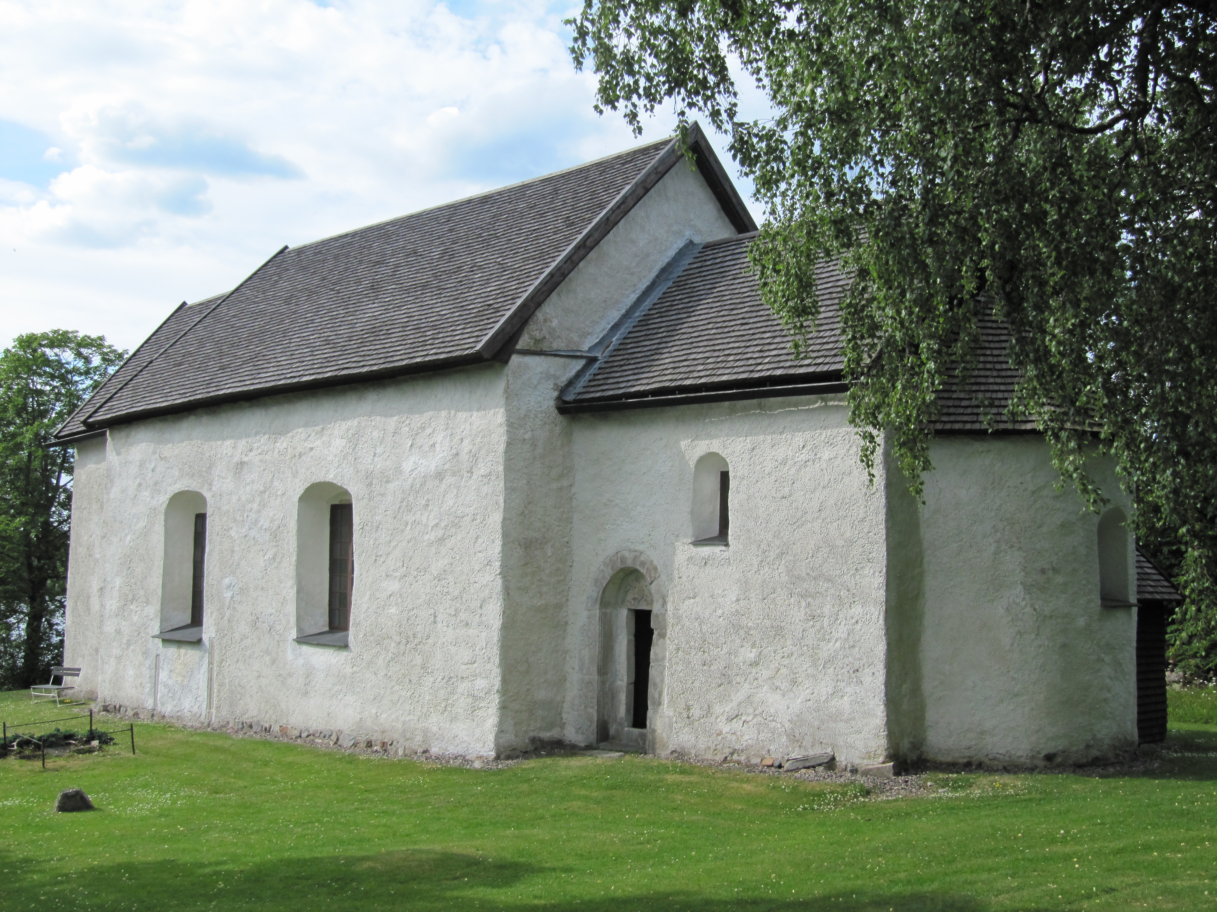Bild av Vallsjö gamla kyrka