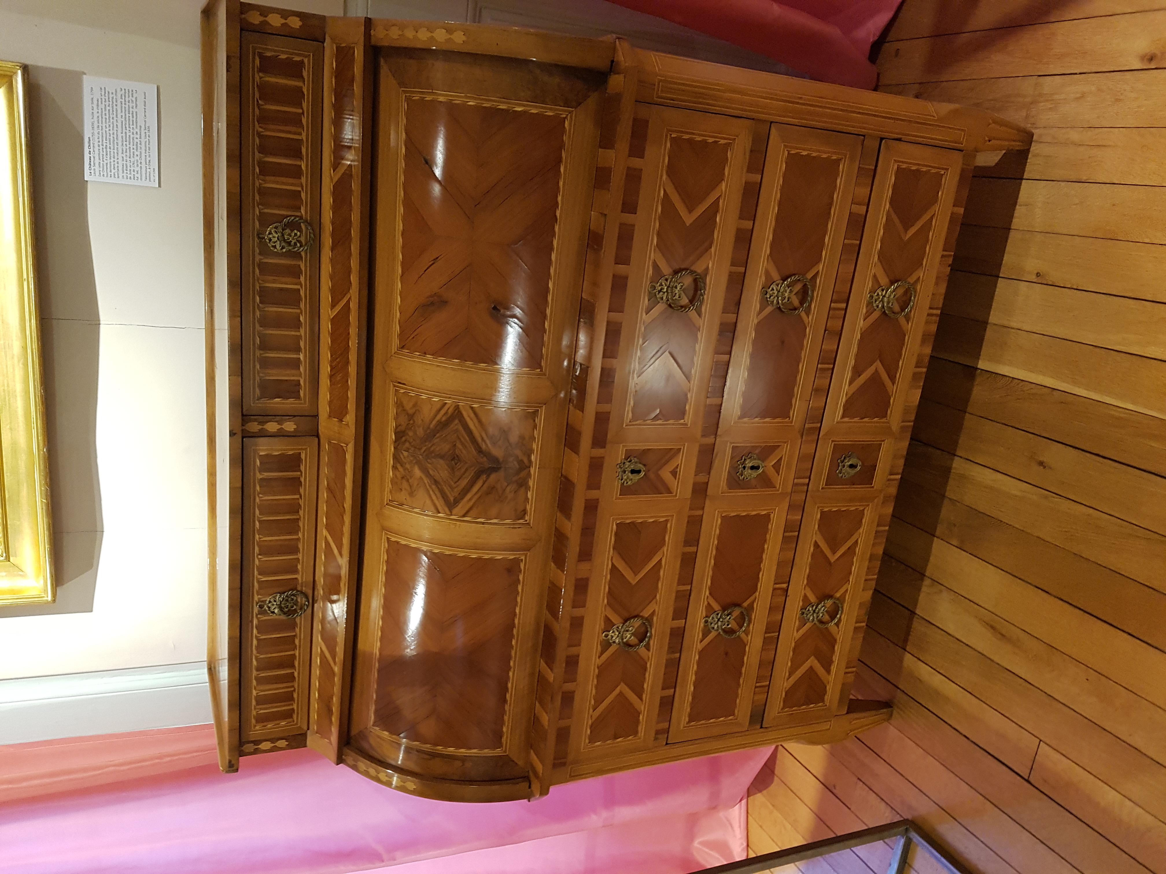 File vevey musée historique bureau à cylindre g wikimedia