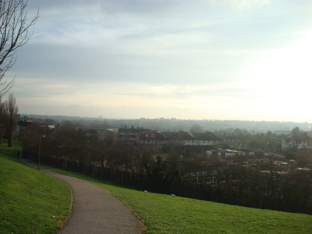View from Barnet Hill - geograph.org.uk - 1637225