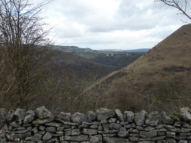 View from Brushfield Hough - geograph.org.uk - 1711456