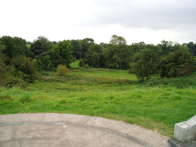 View from Millennium Seat at Inkberrow's Millennium Green - geograph.org.uk - 553278