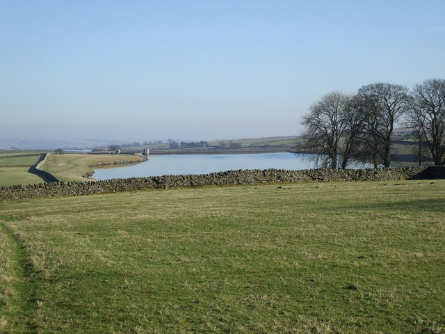 View over Blackton Reservoir - geograph.org.uk - 684749