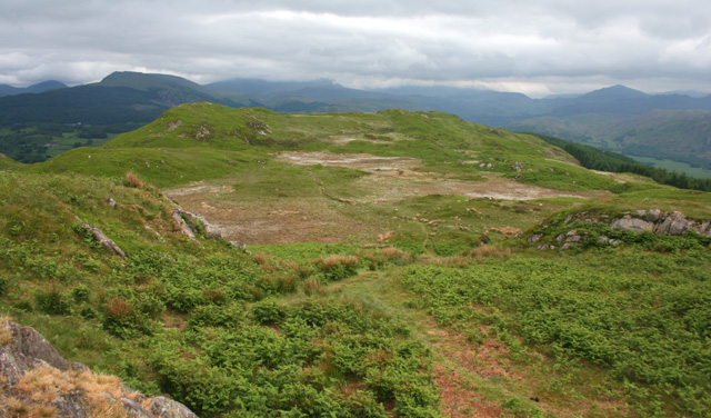 View over Muncaster Fell from Hooker Crag - geograph.org.uk - 840412