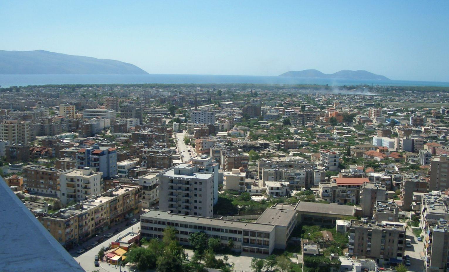 Vlora Albania  city photos gallery : VON VLORA AUS GESEHn