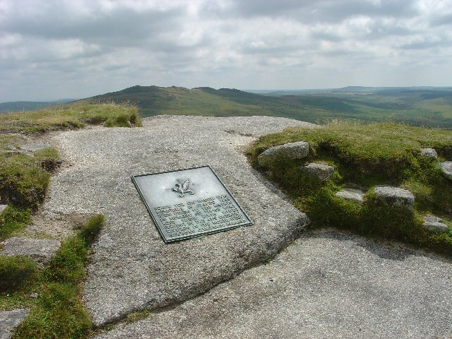 WW2 Memorial to the 43rd Wessex Division, Summit of Rough Tor, Bodmin Moor, Cornwall - geograph.org.uk - 29847