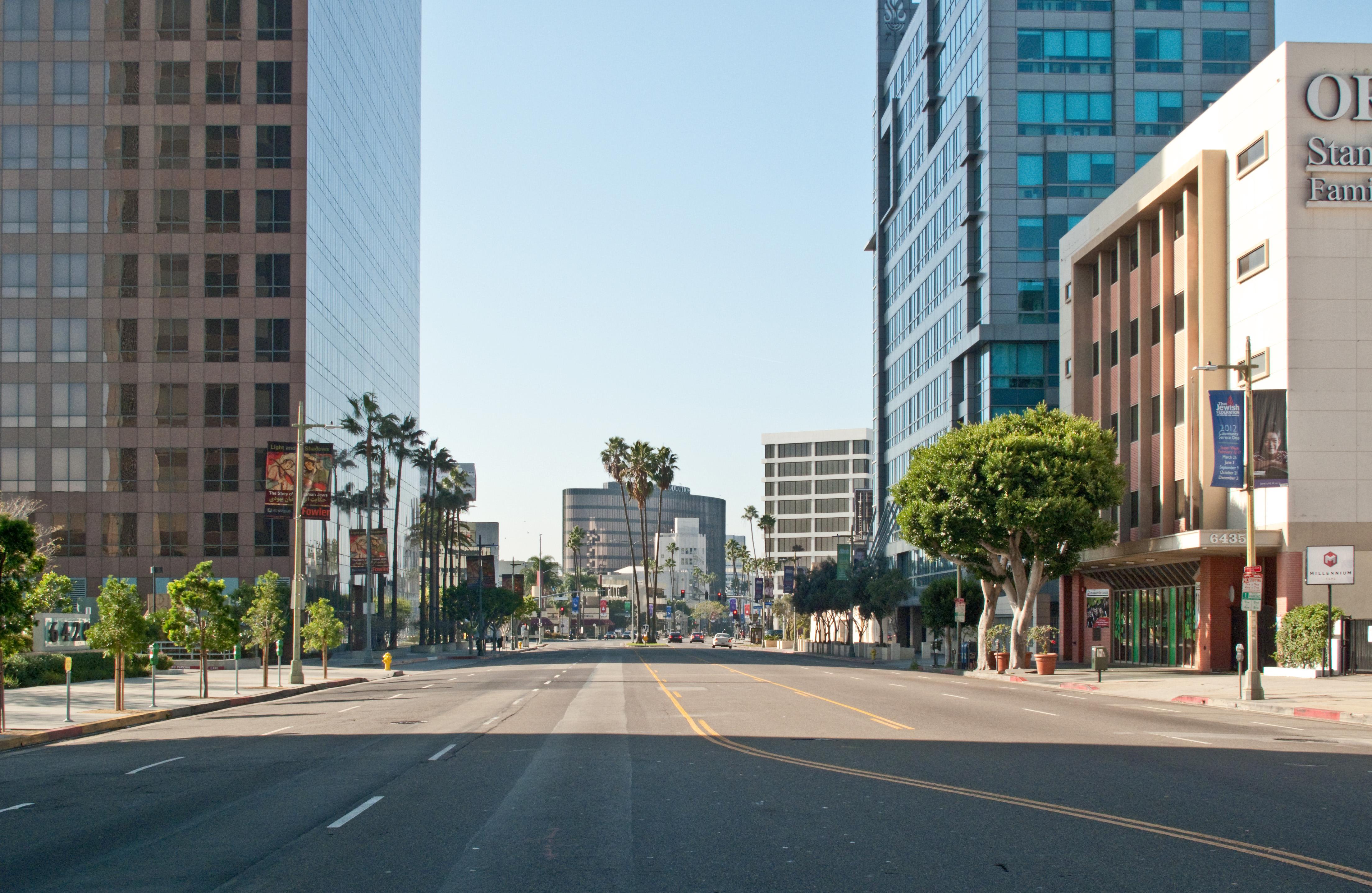 Wilshire Blvd  Santa Monica Ca  Tohermosa Beach