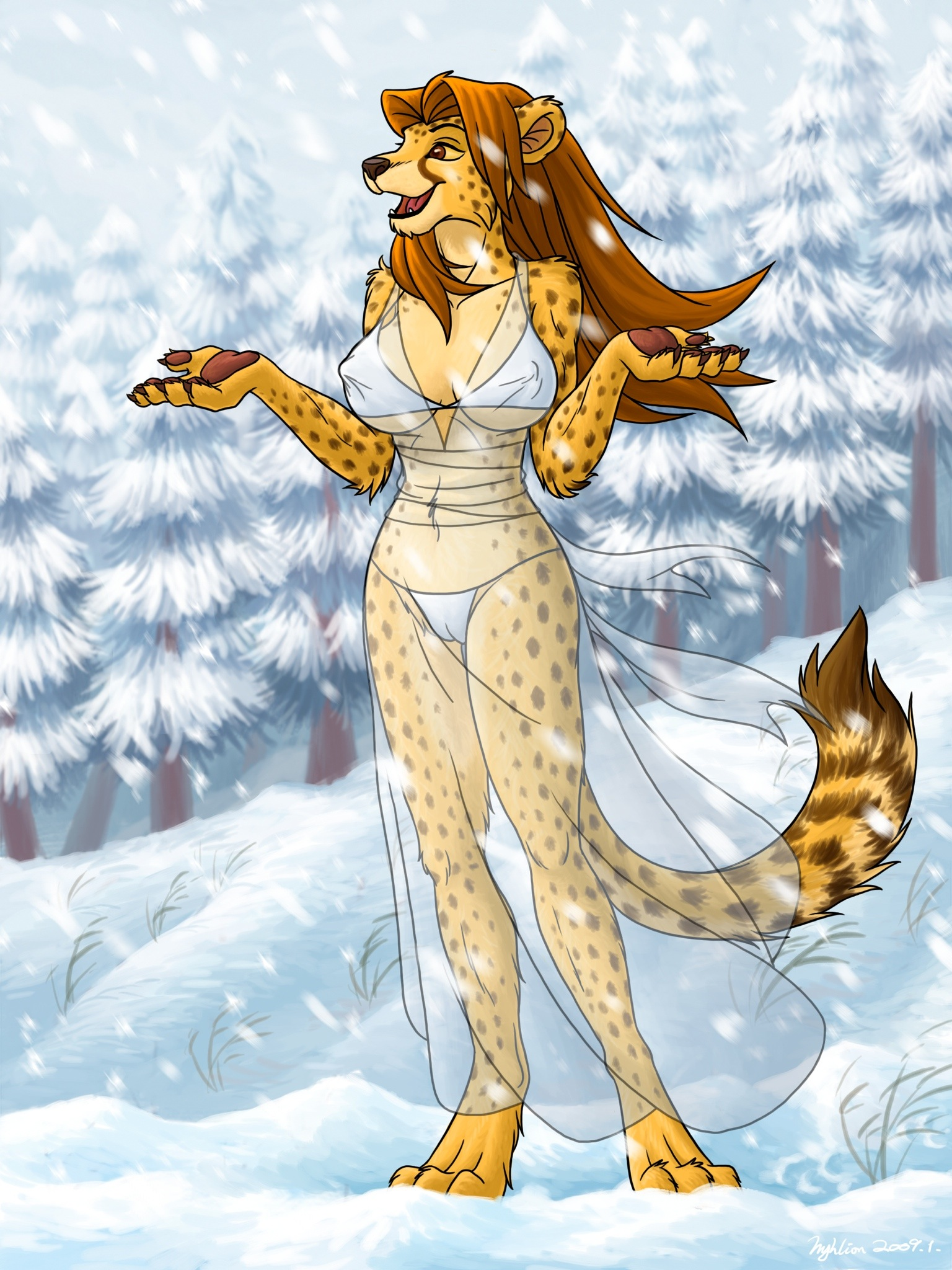 Winter Lady dress