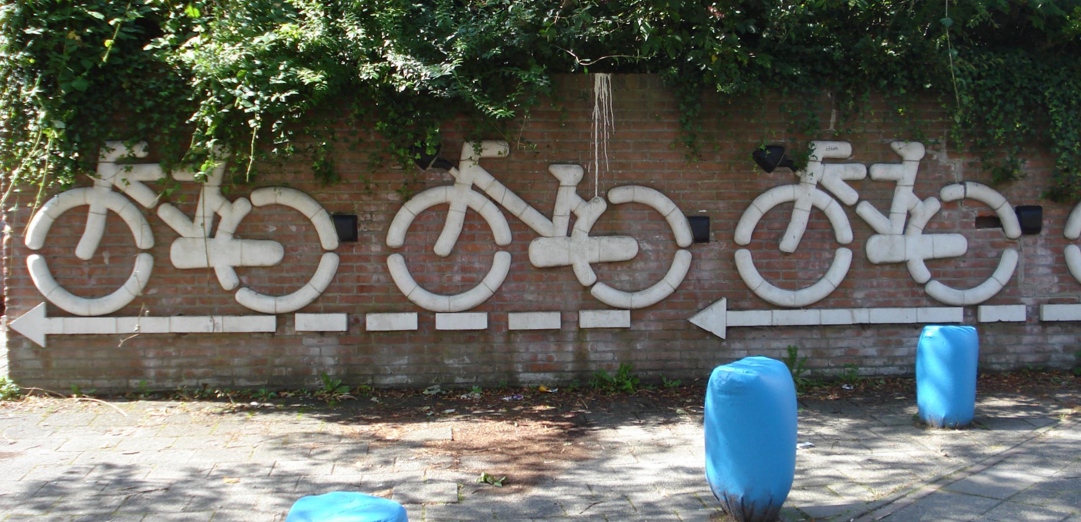 Afbeeldingsresultaat voor fiets kunstwerk