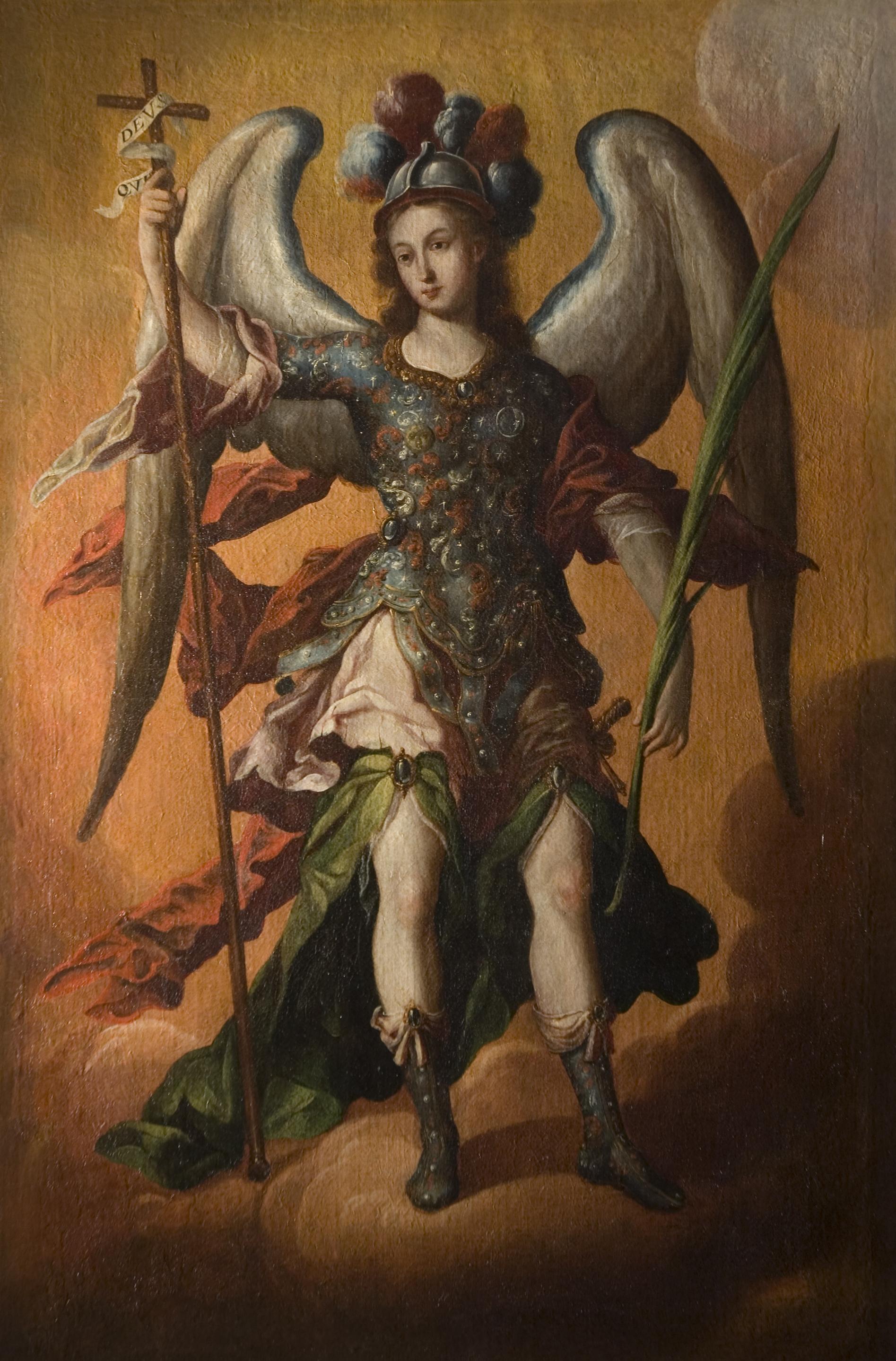 File:'Saint Michael the Archangel', Spanish colonial ...
