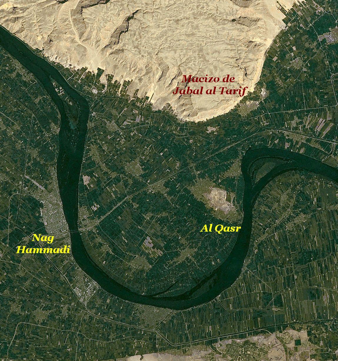 Nag Hammadi %C2%B7_Mapa_del_lugar_del_descubrimiento_de_los_C%C3%B3dices_de_Nag_Hammadi_%C2%B7