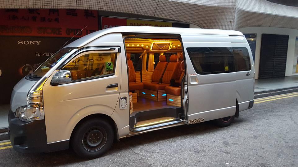 13 seater minibus rental singapore