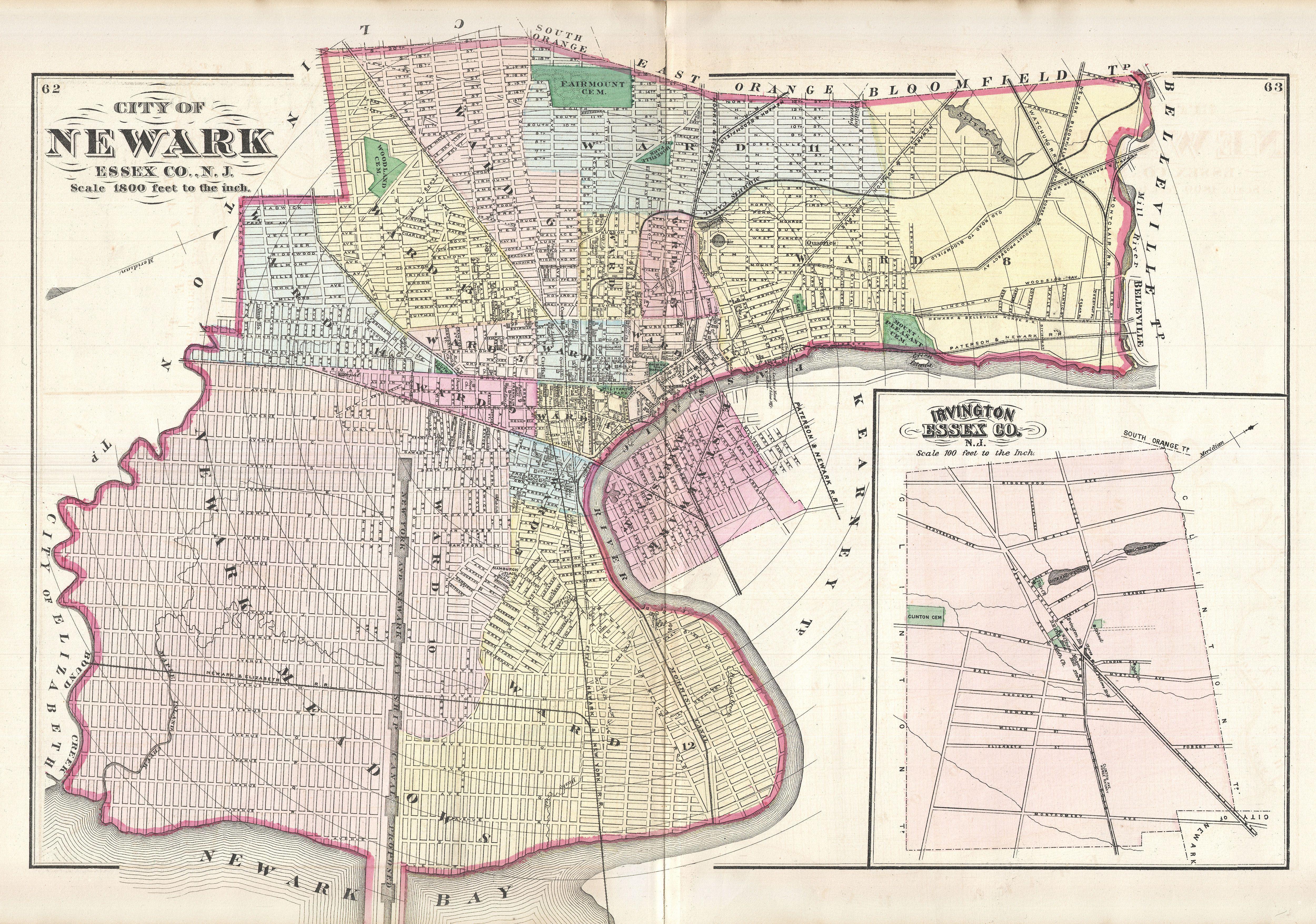 Alfa Img  Showing Gt Map Of Newark NJ