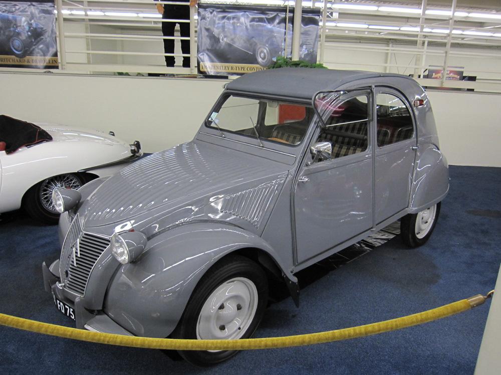 citroen 2cv de 1956