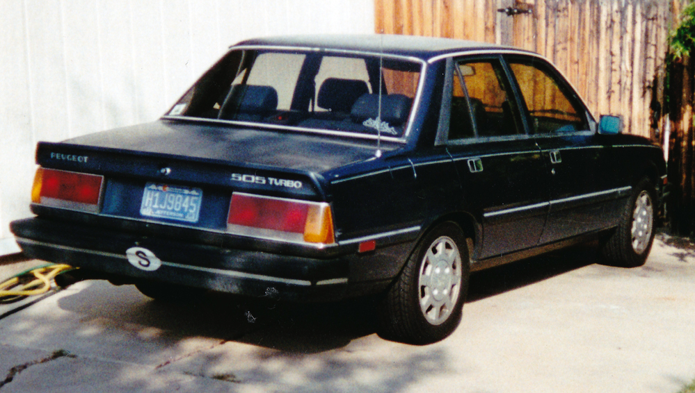 File:1987 Peugeot 505 Turbo S, US.jpg - Wikimedia Commons