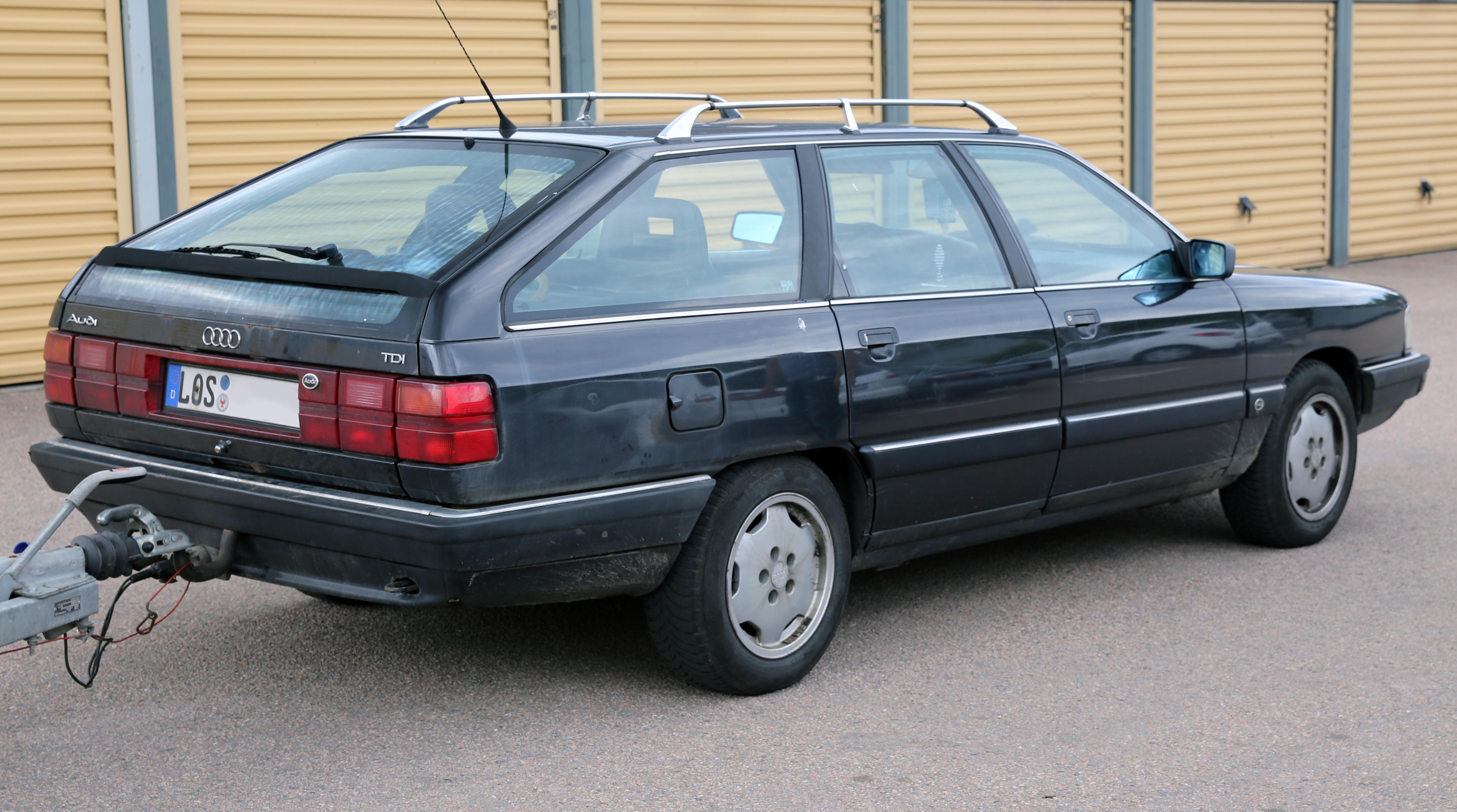 File:1990 Audi 100 Avant TDI rear.jpg - Wikimedia Commons
