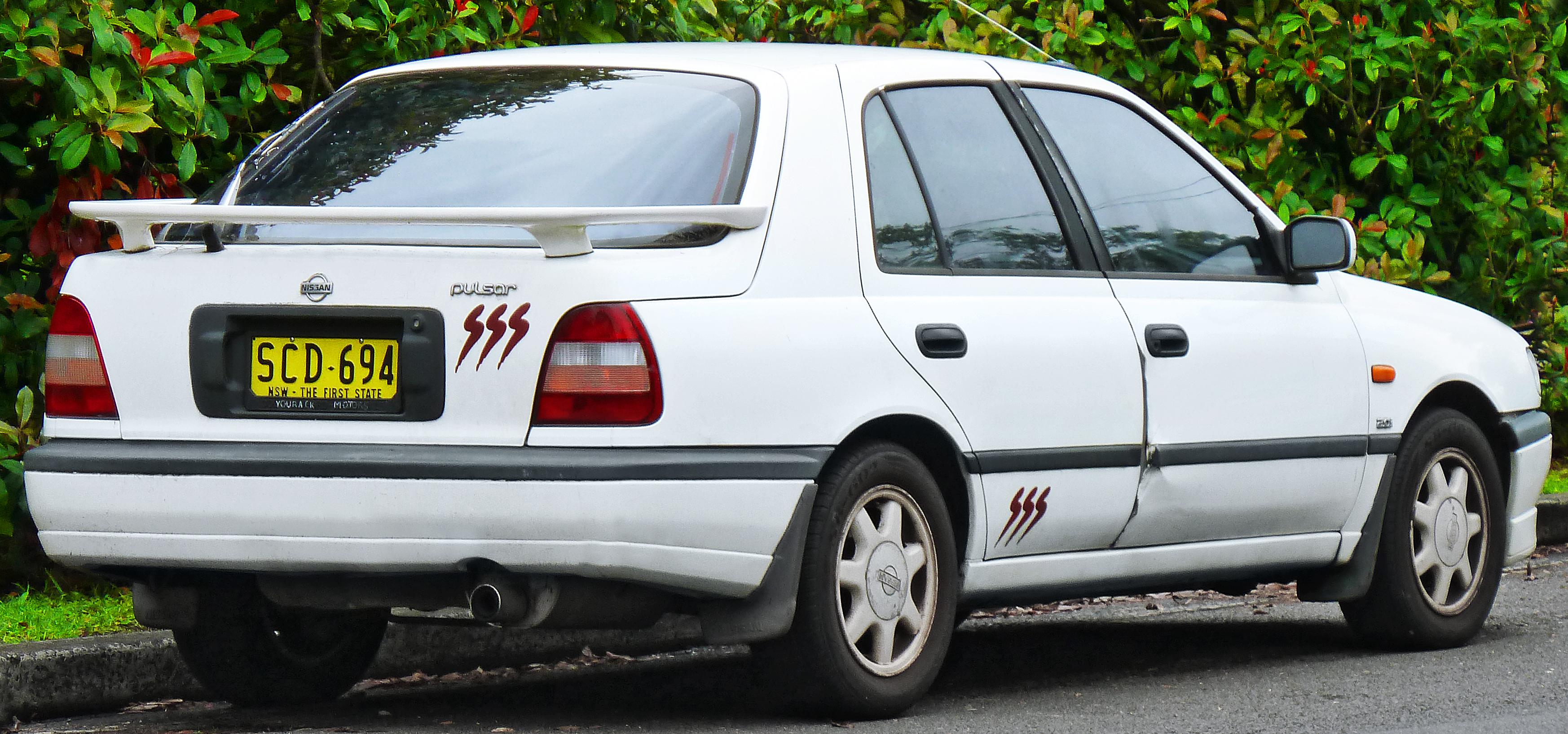 File 1991 1993 Nissan Pulsar N14 Es Sss 5 Door Hatchback 2011 11 18 02 Jpg Wikimedia Commons