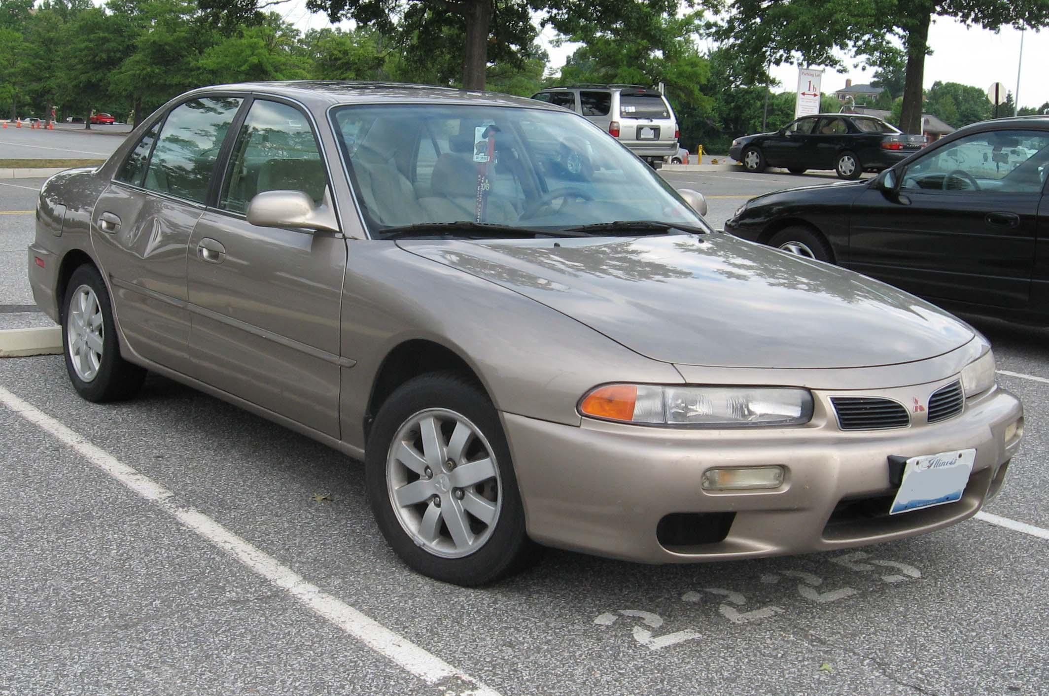 File:1997-98 Mitsubishi Galant.jpg - Wikimedia Commons