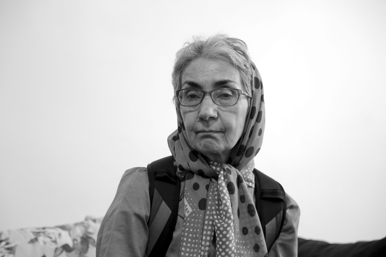 Afsaneh Najmabadi in [[Evaz]], Iran