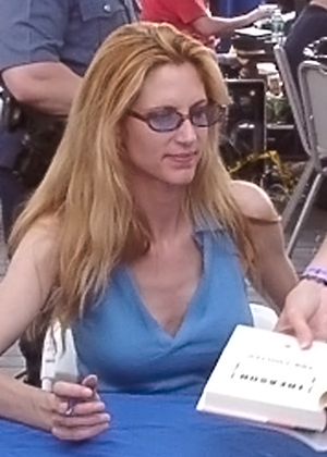 American writer Ann Coulter