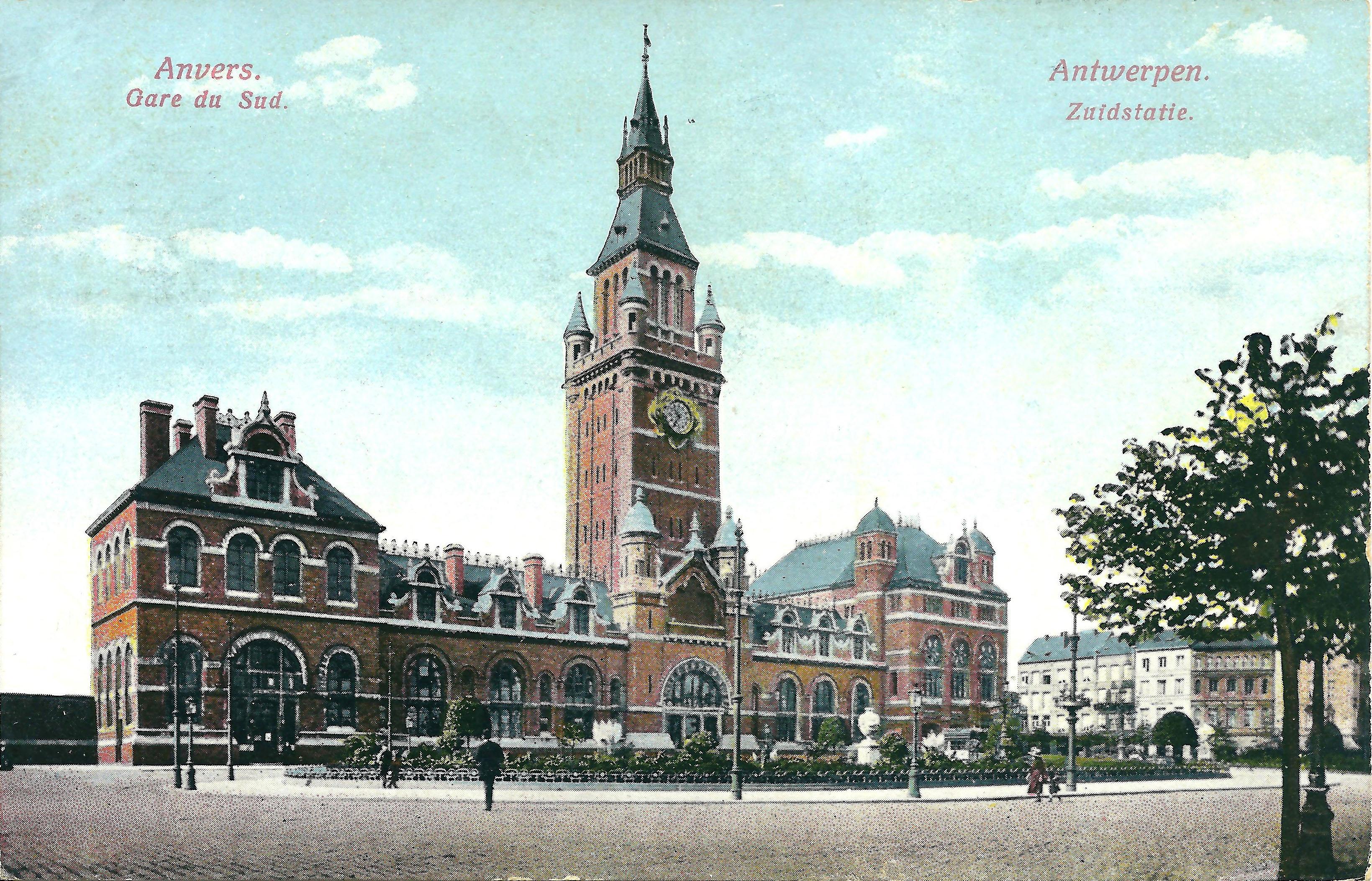 Station Antwerpen-Zuid - Wikiwand