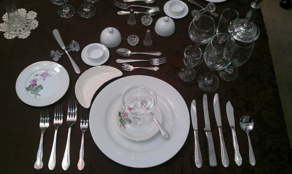 Russian Ala-carte Table Setting : Appetizer - Simple English Wikipedia, the free encyclopedia