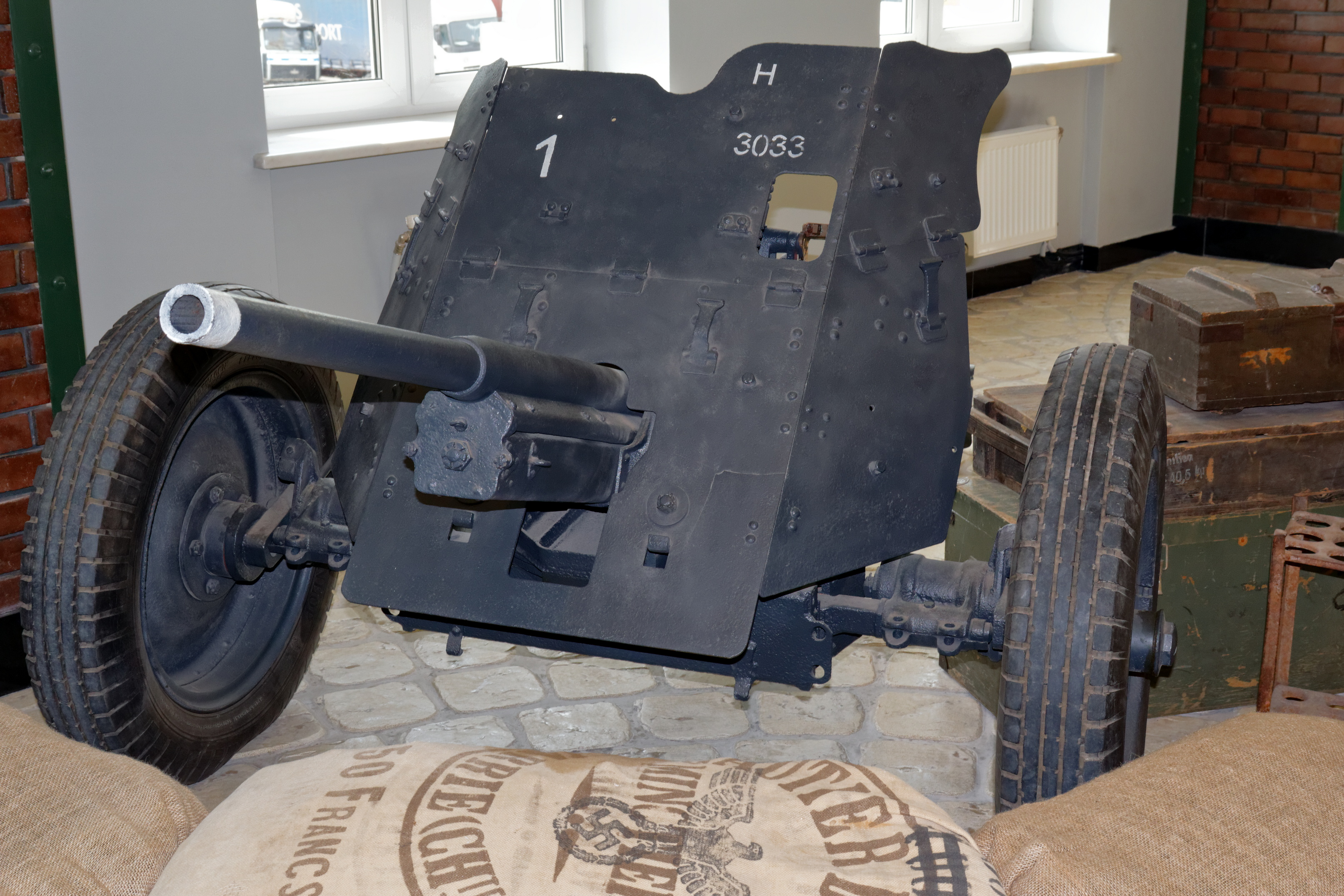 German 50 Mm Anti Tank Gun: File:Arkhangelskoye Vadim Zadorozhnys Vehicle Museum Anti