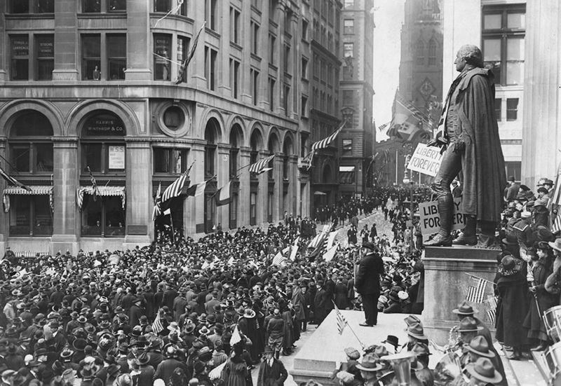 File:Armistice Day, Wall Street.JPG